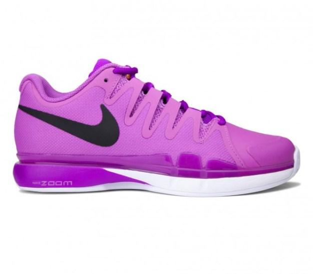 Nike - Air Zoom Vapor 9.5 Tour Clay Chaussures de tennis pour femmes (mauve/rose) - EU 37,5 - US 6,5
