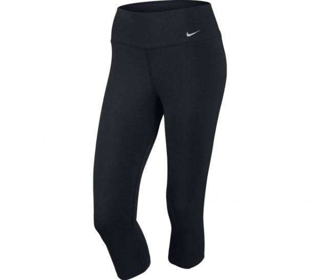 Nike - Dri-Fit Legend 2.0 Cotton Capri pantalon de fitness pour femmes (noir) - L