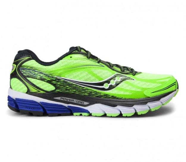 Saucony - Ride 8 Chaussures de running pour hommes (vert clair/noir) - EU 45 - US 11