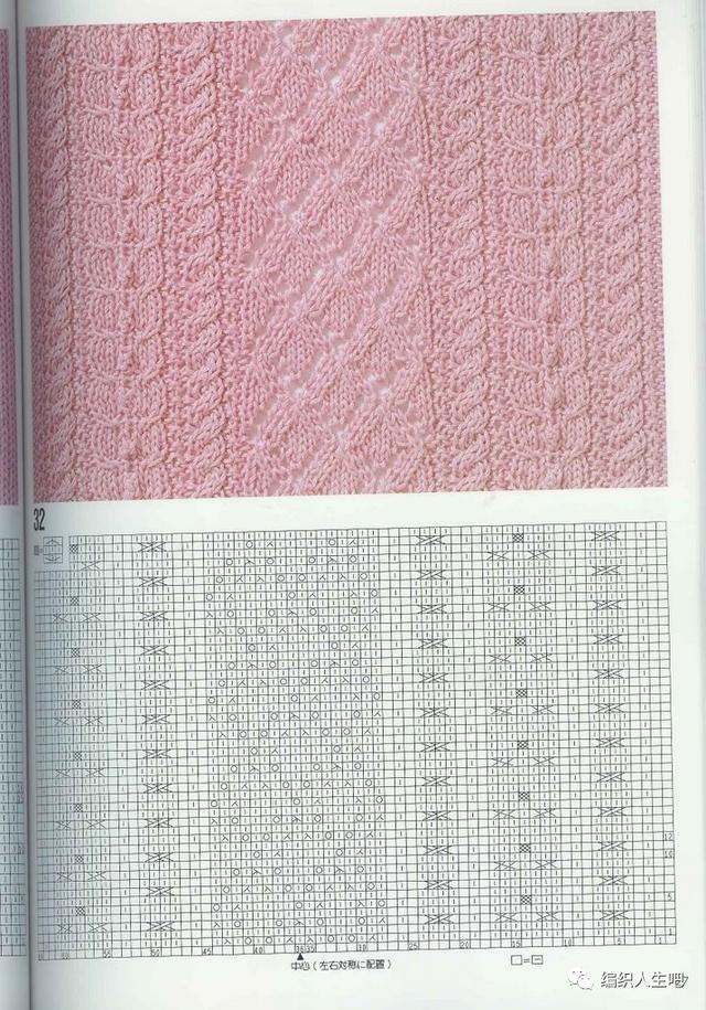 編織棒針花樣100例(圖解大全) - 每日頭條
