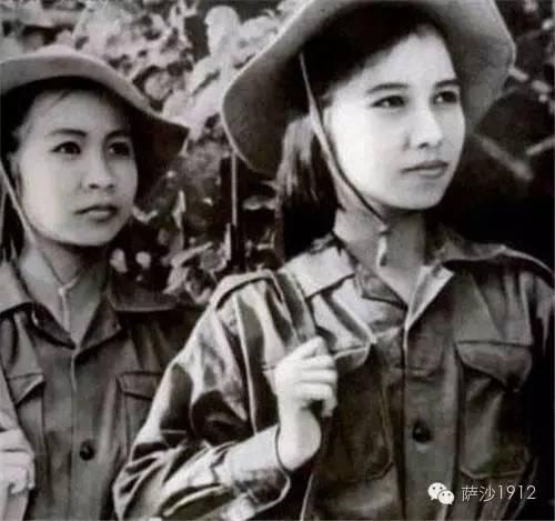 薩沙講史堂:中越戰爭中的風騷越南女兵二三事 - 每日頭條