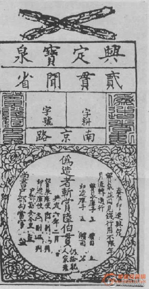 世界上最早的紙幣出現在中國,北宋的交子 - 每日頭條