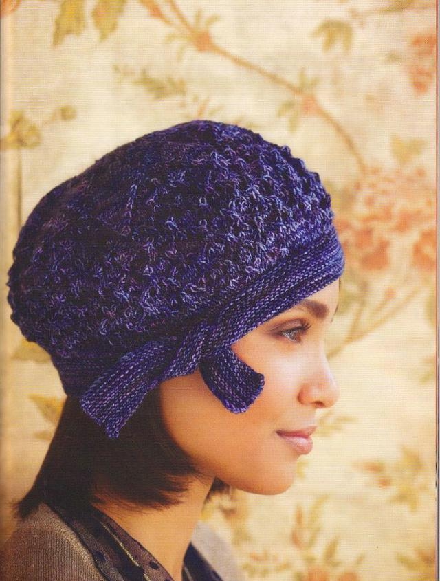 毛線帽子棒針編織教程 - 每日頭條