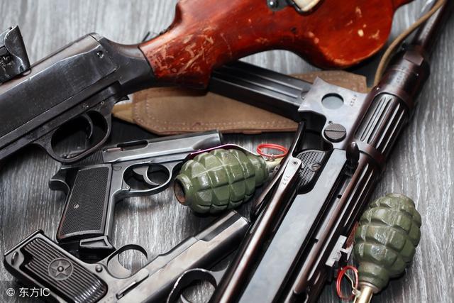 各種槍枝的種類以及劃分 - 每日頭條