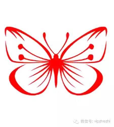 手工剪紙蝴蝶剪紙技巧圖樣 - 每日頭條