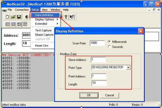 MODBUS TCP V3版本,允許有效率的領域連線的故障排除。 CE版本可運行在任何PocketPC CE版本的ModScan運行在任何PocketPC使用Windows CE 3.00,S7-1200 作為Modubs TCP伺服器 - 每日頭條
