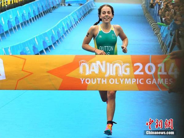 澳大利亞17歲女將奪南京青奧會首金 最愛賈斯汀·比伯 - 每日頭條