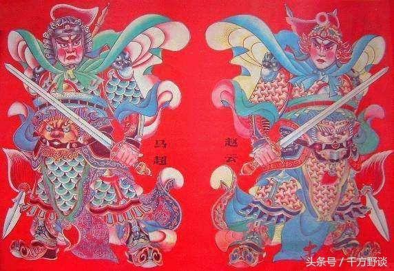 春節大年在即細說中國各地最常見10對門神的正確貼法與人物簡介 - 每日頭條