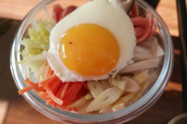 快手韓國拌飯的做法步驟 - 每日頭條
