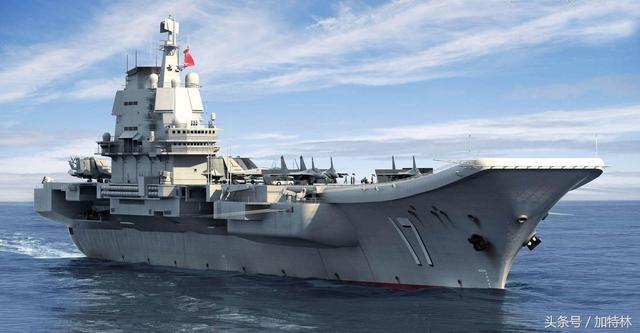 中國山東號航母有了隱身艦島!比美軍最新設計差在哪裡? - 每日頭條