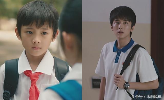 《你好舊時光》小演員長相萌表演自然,王俊浩的笑容神似張新成 - 每日頭條