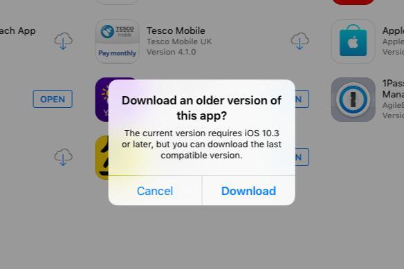 如何將舊版本的APP下載到無法運行iOS 12的舊版iPhone或iPad上 - 每日頭條