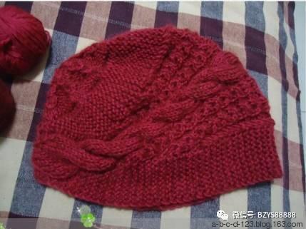 編織毛線帽子 織法教程 - 每日頭條