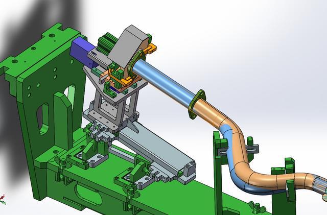 管路柔性焊接夾具3D模型圖紙 Solidworks設計 - 每日頭條