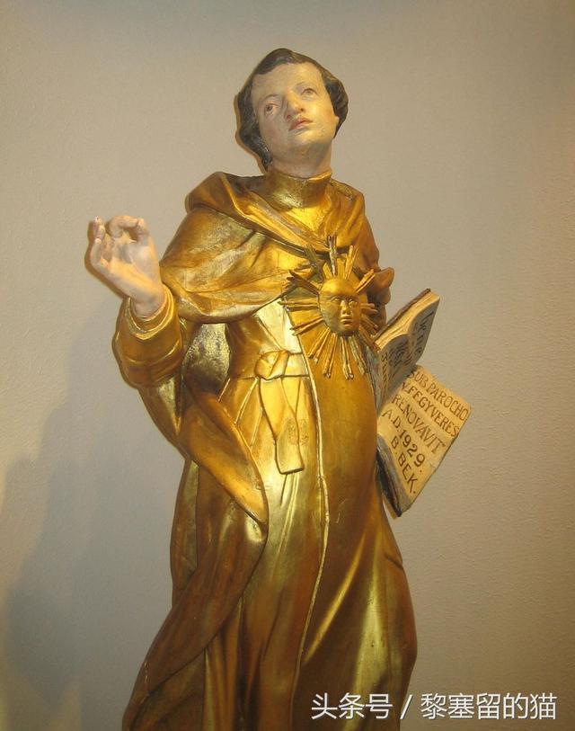 其作品地位與《聖經》並列,中世紀最偉大神學家托馬斯·阿奎那 - 每日頭條