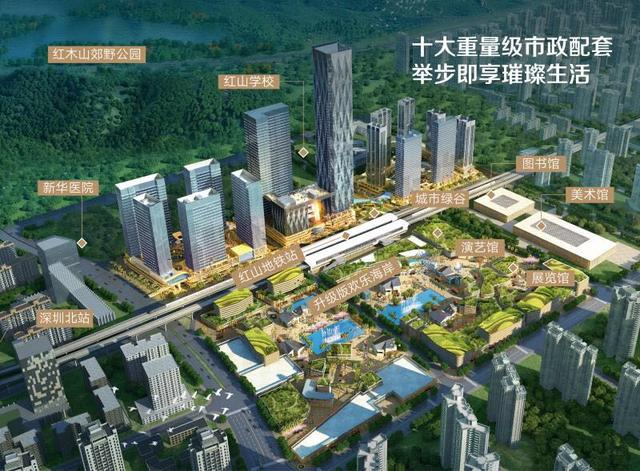 龍華中心之城,39-97-118平商務公寓,總部基地國際資產配備 - 每日頭條
