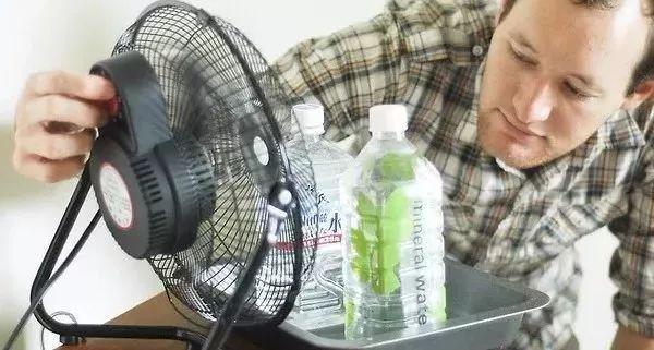 風扇這樣用,比空調還涼快,省電又環保! - 每日頭條