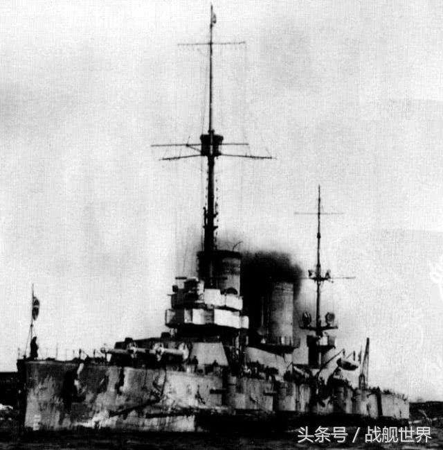 俄國首艘高強度合金鋼戰艦,甘古特級戰列艦,經歷了兩次世界大戰 - 每日頭條