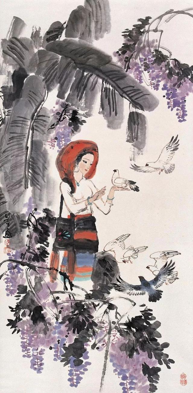 陳衍寧|從國畫家到光耀歐美的油畫大家(120幅) - 每日頭條