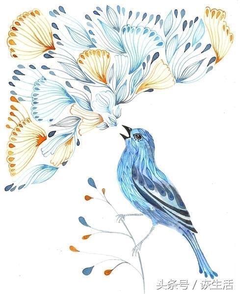 《山海經》中的神獸青鳥緣何深得詩人青睞 青鳥殷勤為探看 - 每日頭條