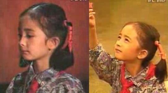 楊冪4歲出道5歲演《蘇乞兒》 - 每日頭條
