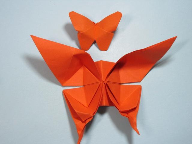 兒童手工摺紙 蝴蝶的折法 - 每日頭條