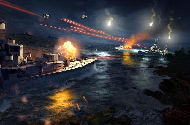 極光號歸來與薩沃島海戰!戰艦世界官方海量最新壁紙展示 - 每日頭條