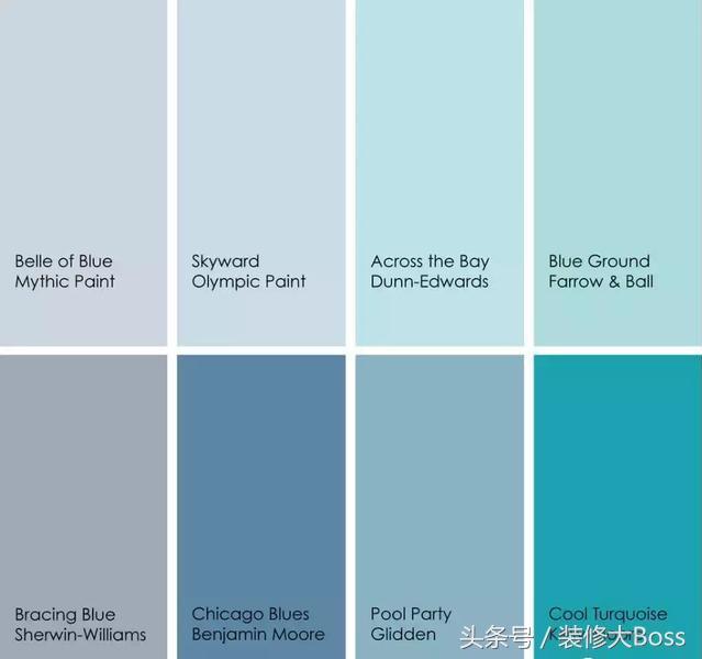 浴室顏色:該在什麼地方使用藍色 - 每日頭條