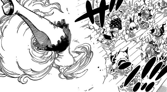 海賊王最新話:加洛特變身女戰神!毛皮族難道都這麼強大嗎?! - 每日頭條