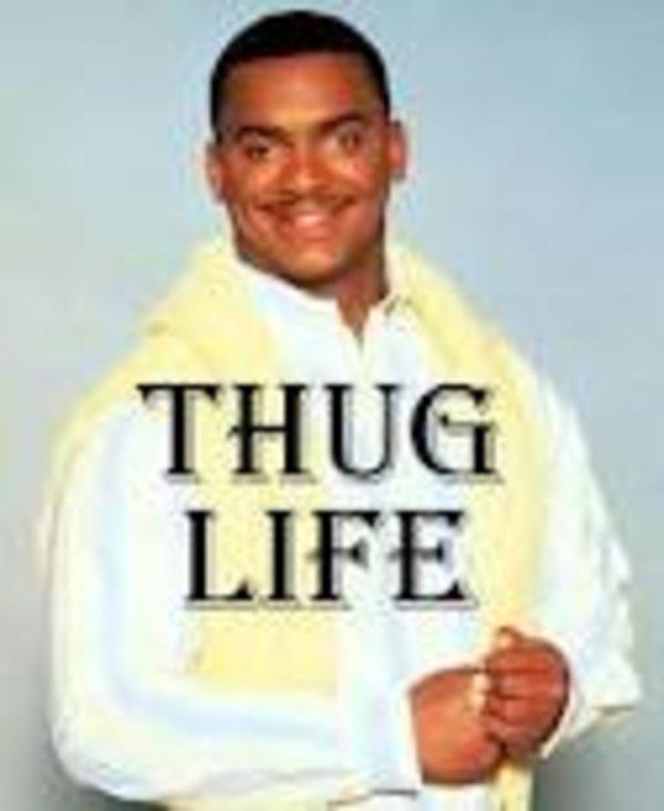 I Didnt Choose Thug Life Meme