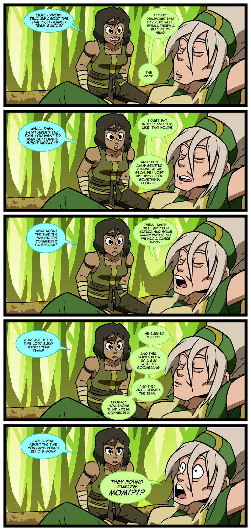 Story Time With Toph Avatar The Last Airbender The