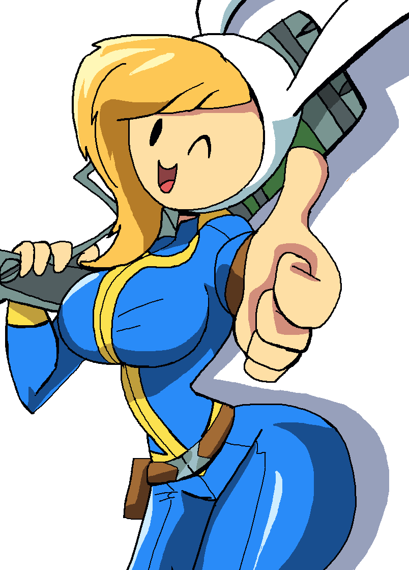 Vault Girl Adventure Time Know Your Meme