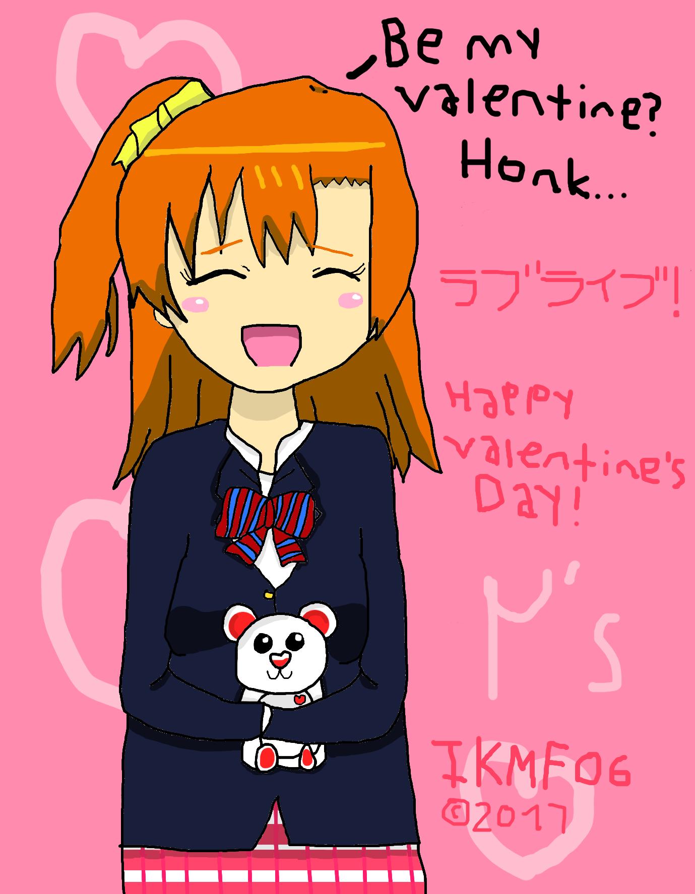 Valentine S Day Honoka Love Live