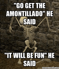 Image result for the cask of amontillado meme