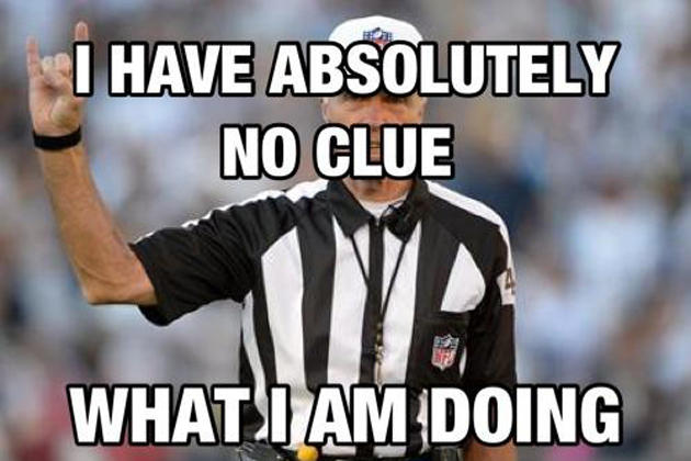 Image result for stupid referee football