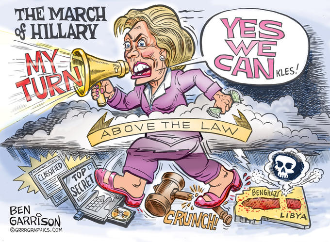 March of Hillary Clinton