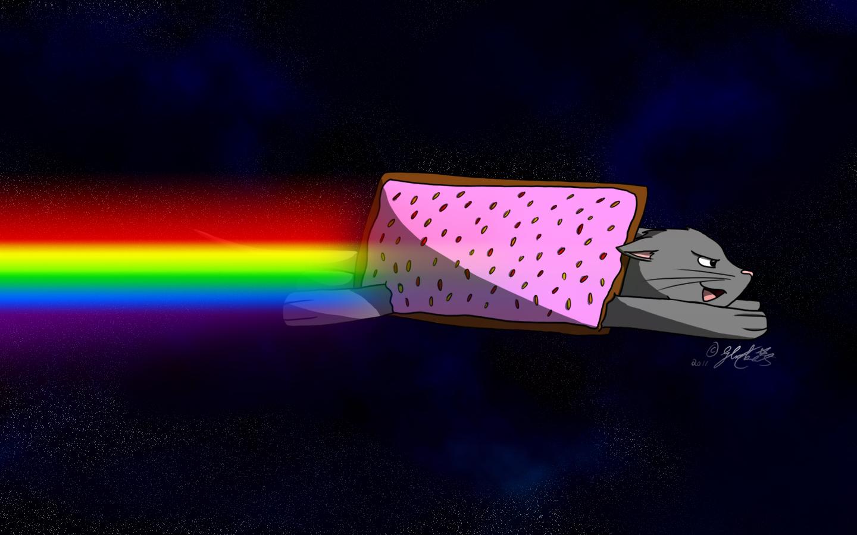 Image 123626 Nyan Cat Pop Tart Cat Know Your Meme