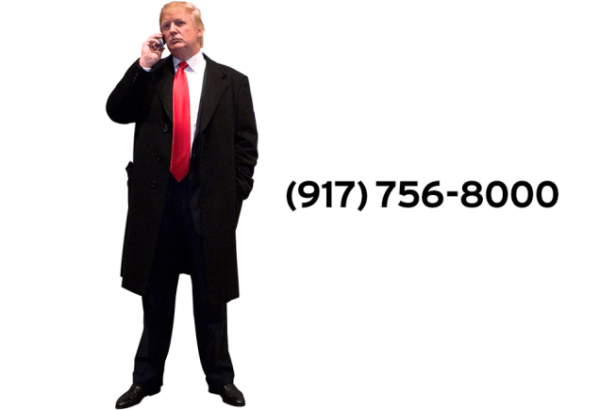 Call Donald Trump's Cell Phone and Ask Him About His ...