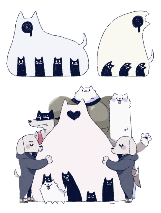 Family Of Dogs Undertale Know Your Meme