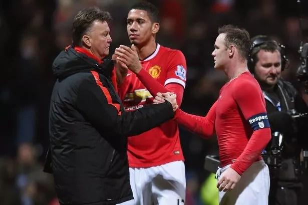 Van Gaal has been impressed by Rooney