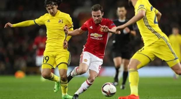 Liga Europa, Manchester United Tekuk Rostov 1-0