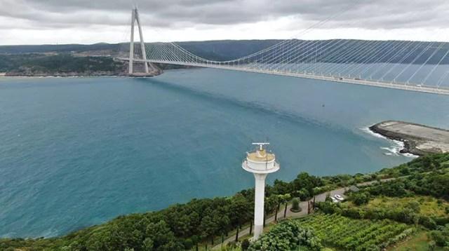 Boğazlar ve Marmara Denizi'nde elektro optik sistem kurulumlarında sona gelindi