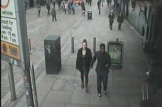 Billedresultat for CCTV image of man released in connection with missing 14-year-old girl