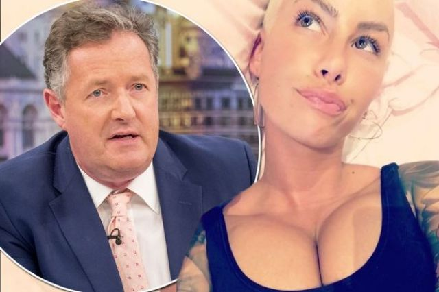 Amber Rose makes X-rated threats to Piers Morgan