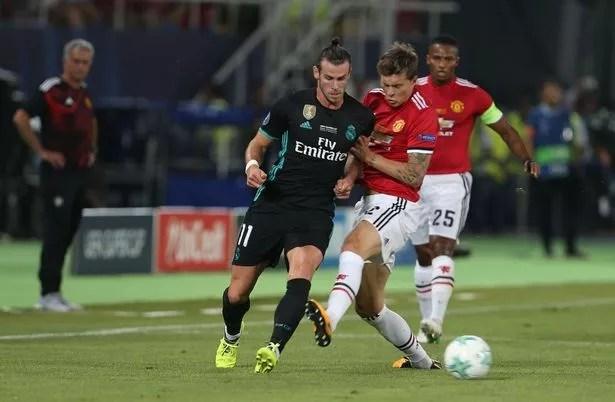 Gareth Bale in action (Image: Matthew Peters) UEFA super cup