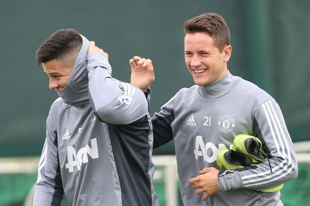 Image result for Rojo boosts Man United with return to training