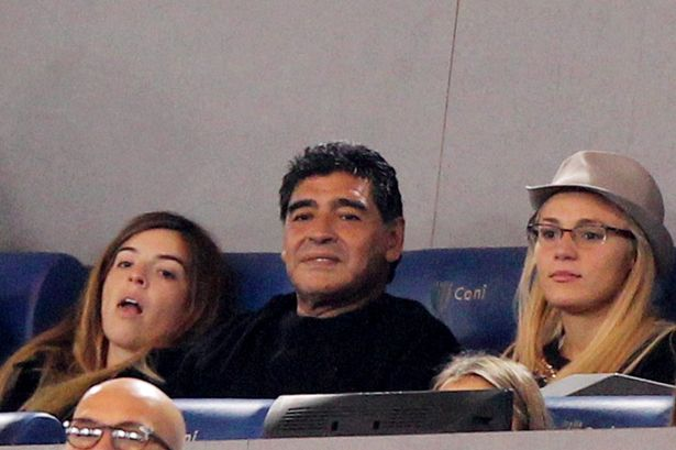 Rocio Oliva has been dumped by Diego Maradona