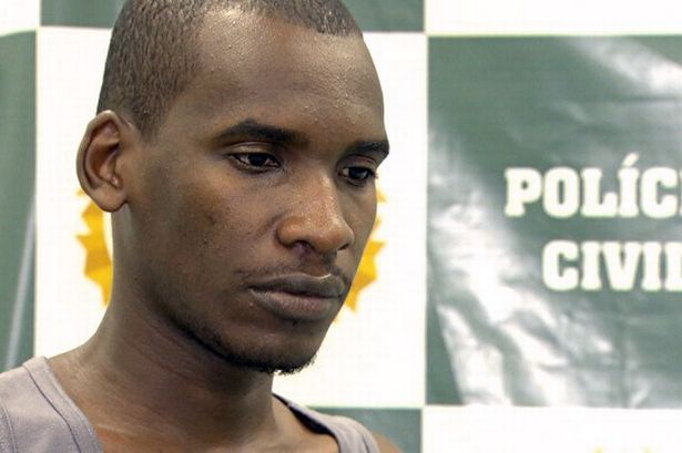Sailson Jose das Gracas, 26 years old, who confessed he had murdered 42 people (38 women, 3 men and a 3 year-old child)