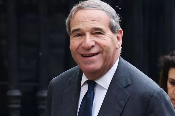 Former Cabinet minister Leon Brittan