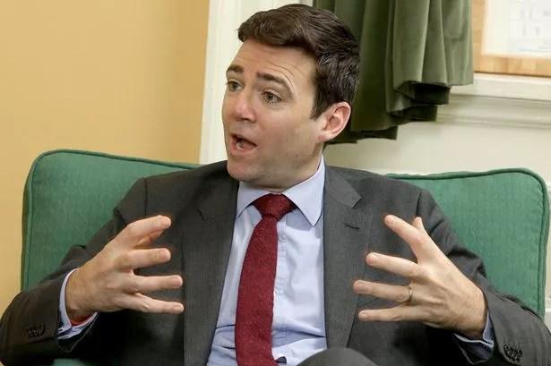 Shadow Health Secretary, Labour MP the Rt Hon Andy Burnham